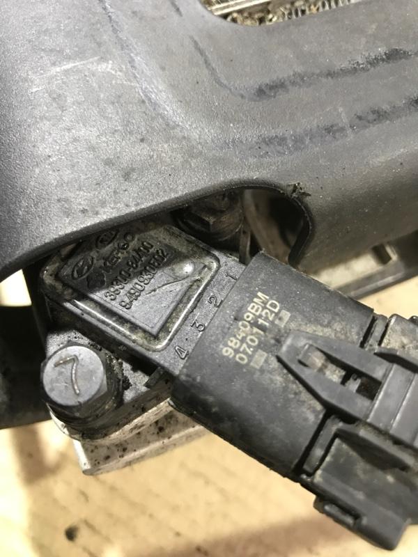 Датчик давления Hyundai Santa Fe CM 2.2 CRDI 2009 (б/у)