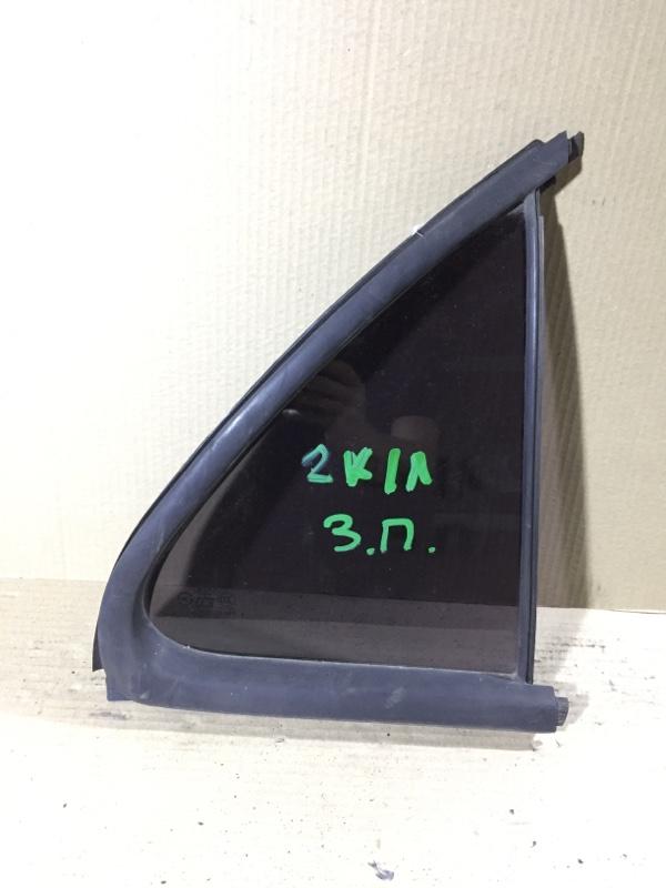 Стекло Kia Sorento BL 2.5 CRDI 2007 заднее правое (б/у)