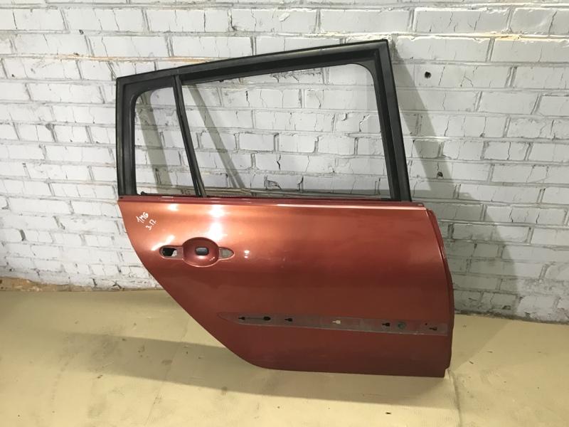 Дверь голая Renault Megane 2 1.9 DCI 2004 задняя правая (б/у)