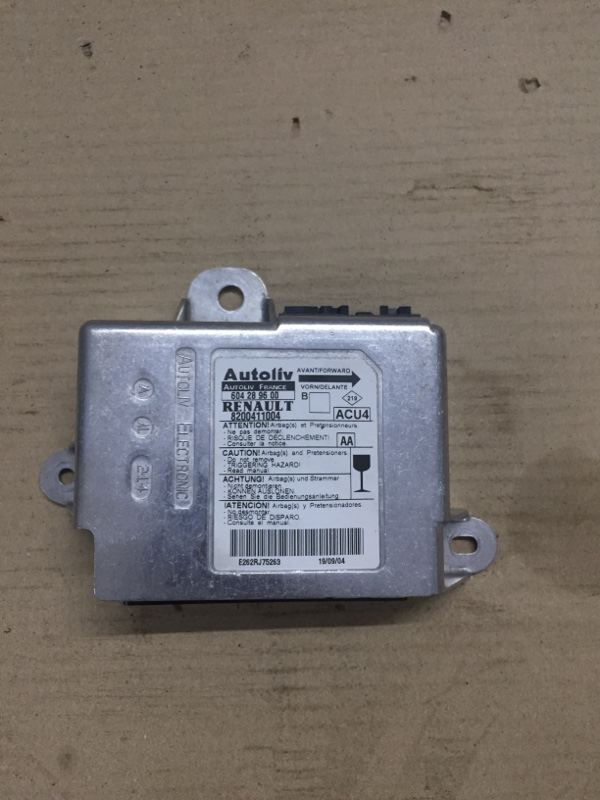 Блок управления аирбаг Renault Megane 2 1.9 DCI 2004 (б/у)