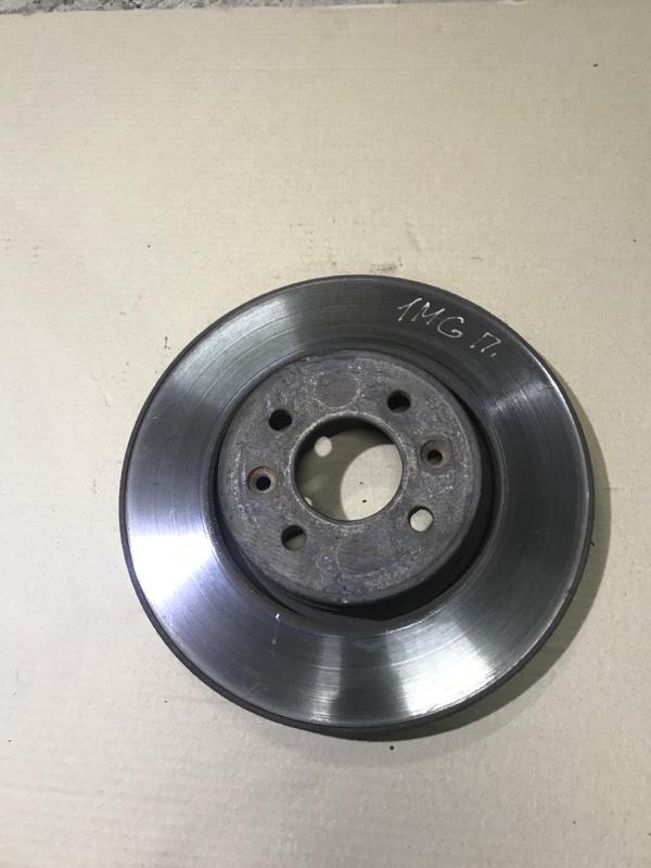 Тормозной диск Renault Megane 2 1.9 DCI 2004 передний (б/у)