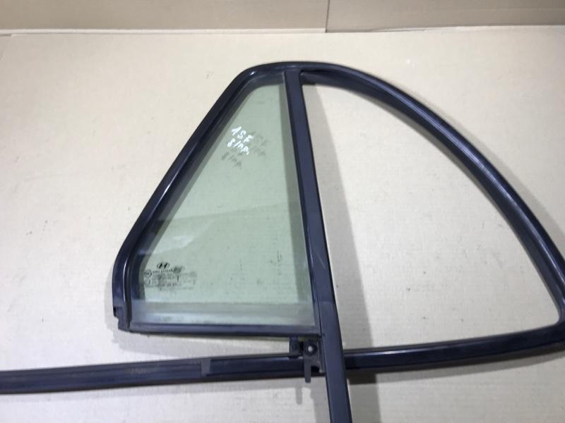 Стекло Hyundai Santa Fe CM 2.2 CRDI 2009 заднее правое (б/у)