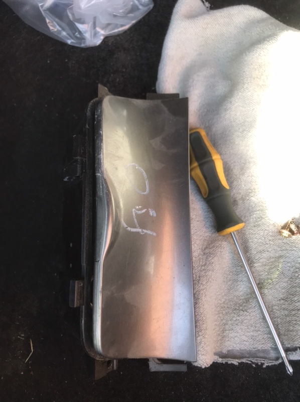 Пепельница Mazda 6 GG 2.0 RF5 2002 передняя (б/у)