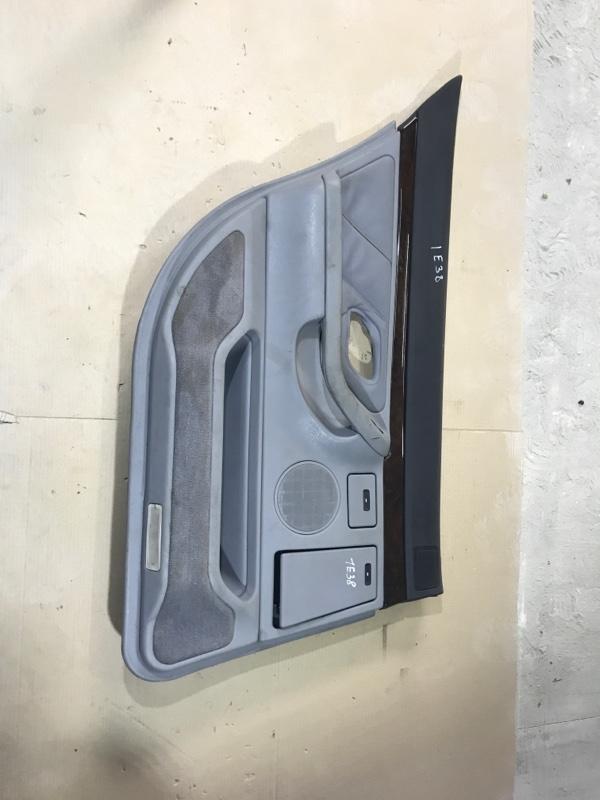 Дверная карта Bmw 7-Series E38 M60B40 1996 задняя левая (б/у)