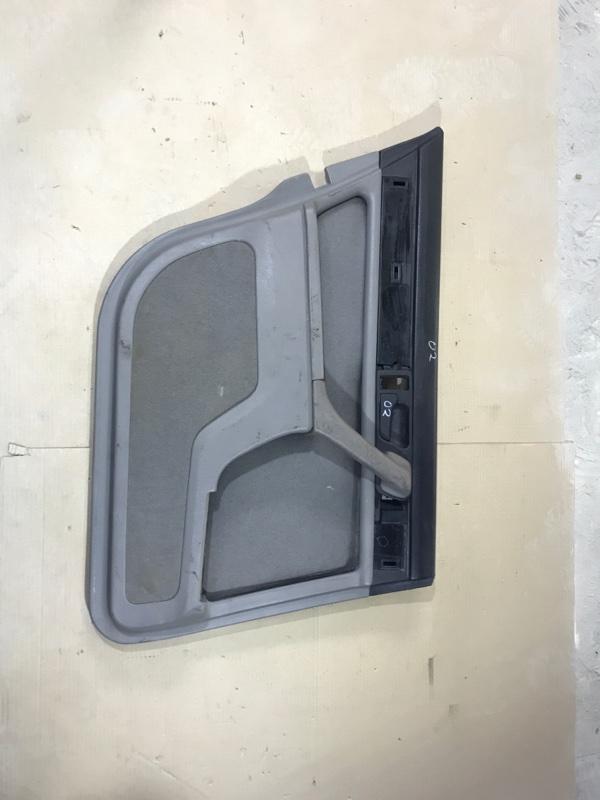 Дверная карта Bmw 7-Series E32 M30B35 задняя левая (б/у)