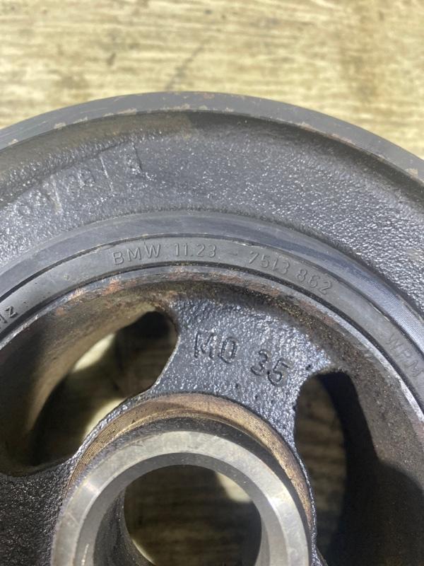 Шкив коленвала Bmw 5-Series E60 M54B22 2004 (б/у)