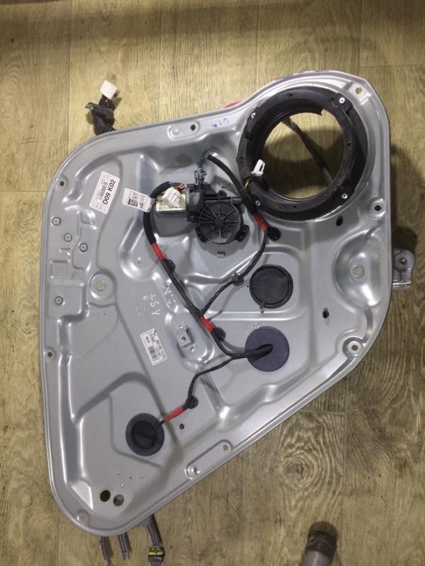 Стеклоподъемник Hyundai Santa Fe CM 2.2 CRDI 2009 задний левый (б/у)