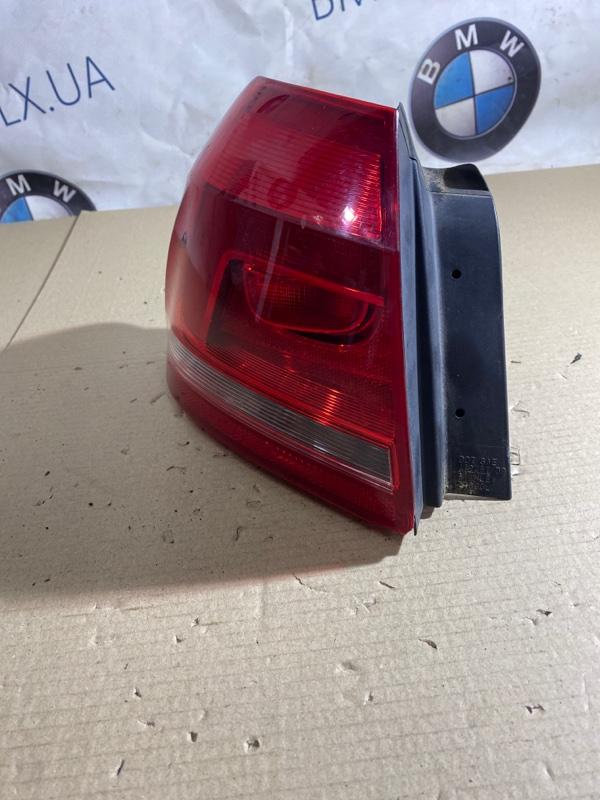 Задний фонарь Volkswagen Passat B7 2.5 2013 задний левый (б/у)