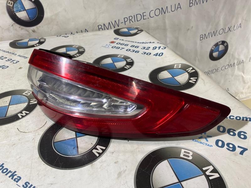 Задний фонарь Ford Fusion 2.0 HYBRID 2013 задний правый (б/у)