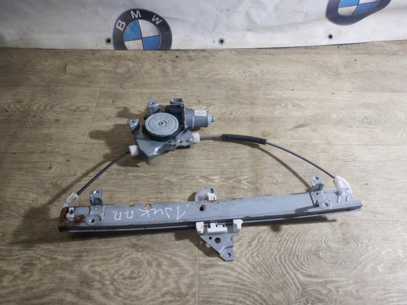 Стеклоподъемник Nissan Juke 1.6 2011 передний правый (б/у)