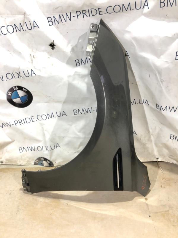 Крыло Kia Optima 2.4 2013 переднее левое (б/у)