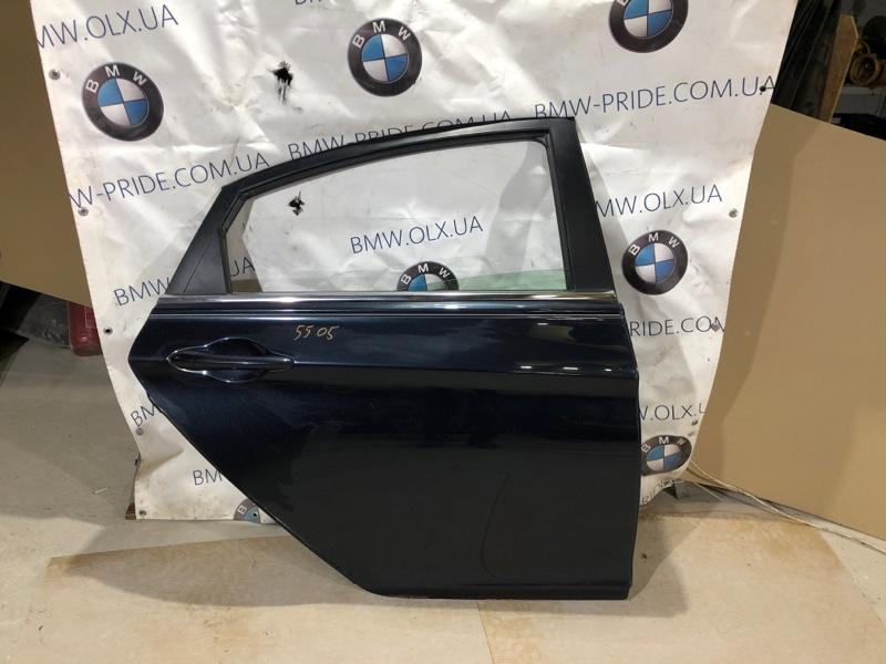 Дверь голая Hyundai Sonata YH 2.4 2013 задняя правая (б/у)