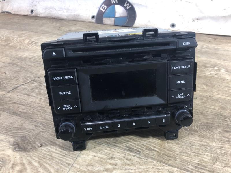 Магнитофон Hyundai Sonata LF 2.4 2015 (б/у)