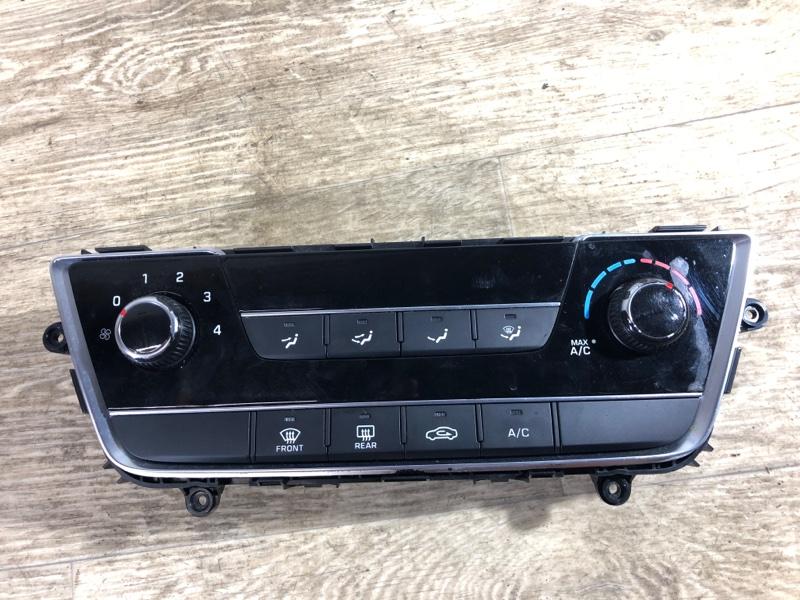 Блок управления климат-контролем Hyundai Sonata LF 2.4 2015 (б/у)
