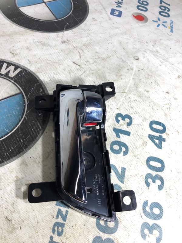 Ручка двери внутренняя Kia Sorento 2.4 2013 передняя левая (б/у)