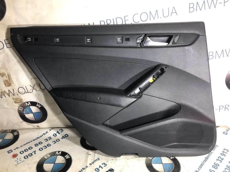 Дверная карта Volkswagen Passat B7 2.5 2013 задняя левая (б/у)