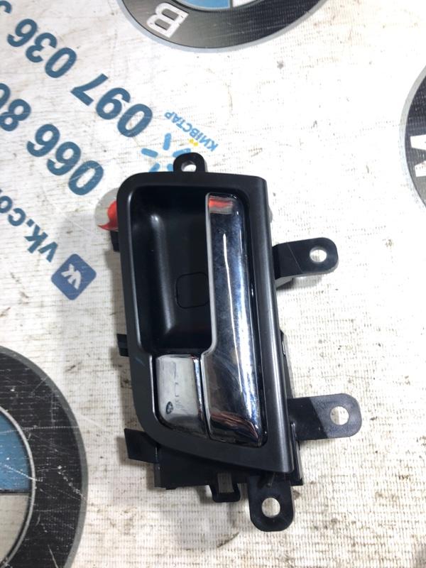 Ручка двери внутренняя Kia Optima 2.4 2013 задняя левая (б/у)
