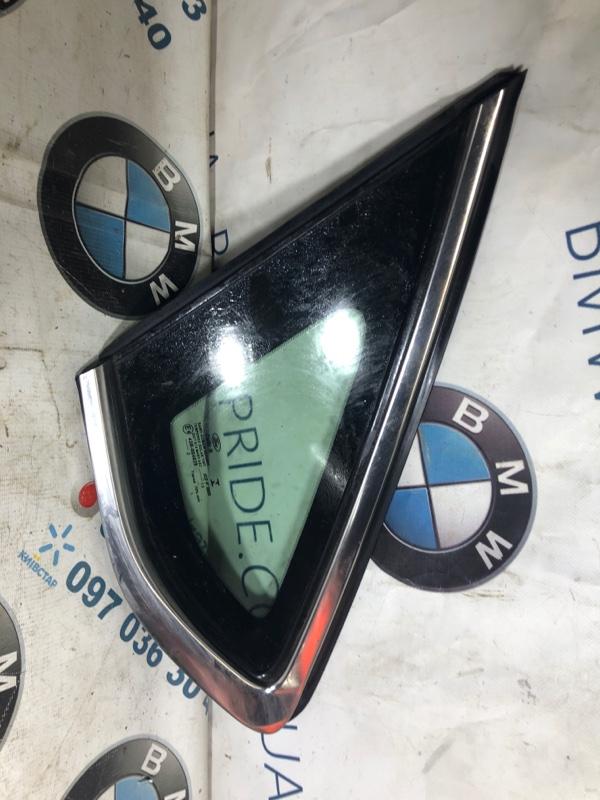 Форточка двери Ford Fusion 2.0 HYBRID 2013 левая (б/у)