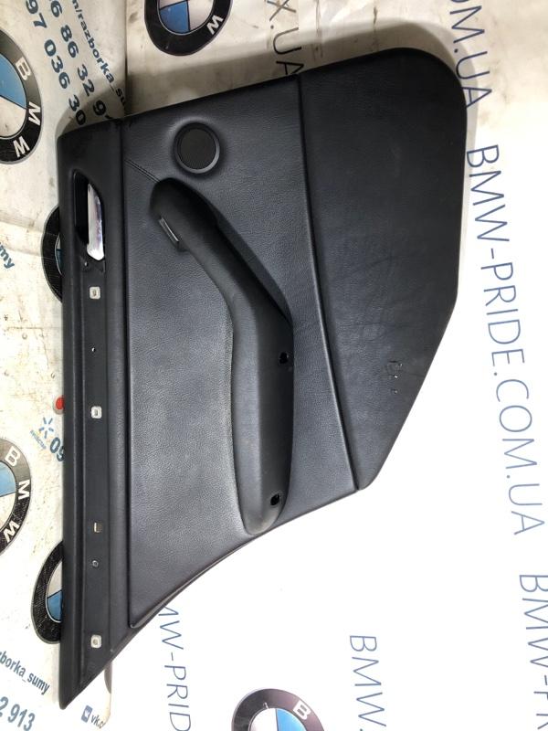 Дверная карта Bmw 3-Series E46 M54B30 2001 задняя левая (б/у)