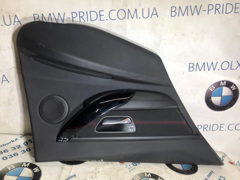 Дверная карта Bmw 3-Series F30 N47D20 2013 задняя левая (б/у)