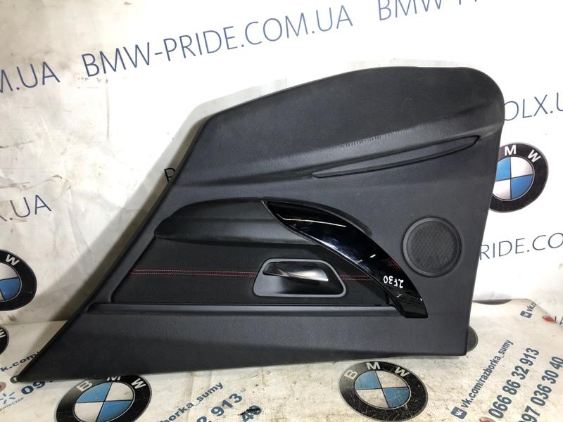 Дверная карта Bmw 3-Series F30 N47D20 2013 задняя правая (б/у)