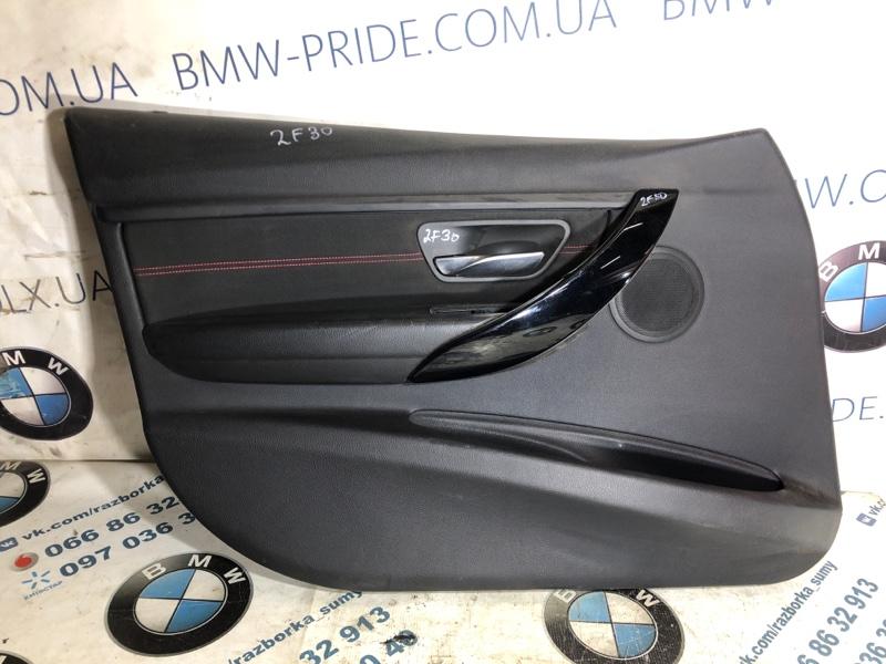 Дверная карта Bmw 3-Series F30 N47D20 2013 передняя левая (б/у)