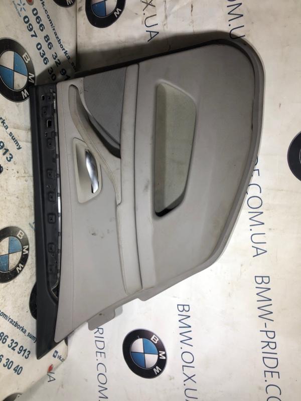 Дверная карта Bmw 5-Series F10 N63B44 2013 задняя левая (б/у)