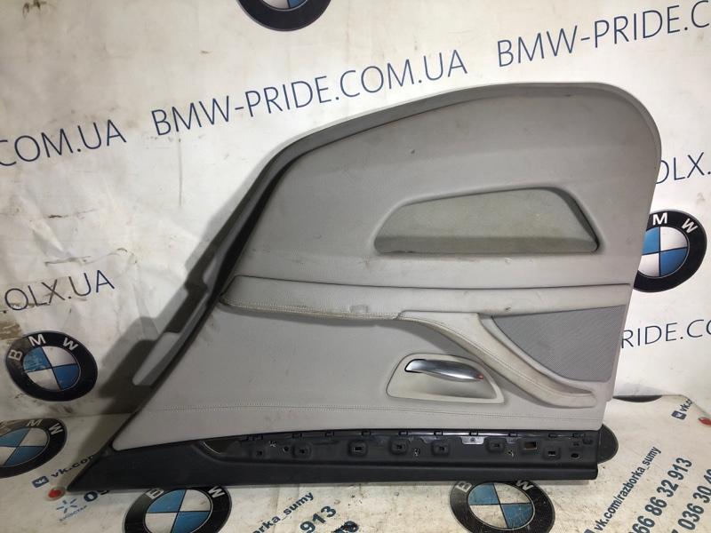 Дверная карта Bmw 5-Series F10 N63B44 2013 задняя правая (б/у)