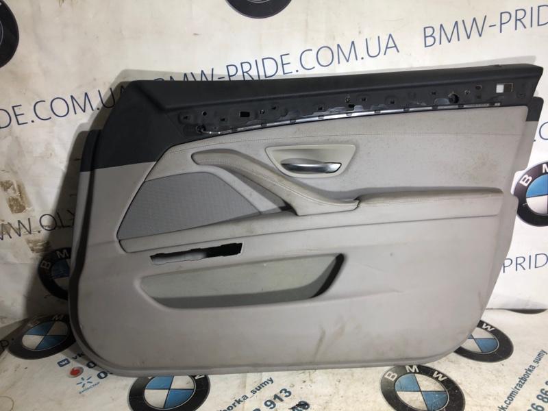 Дверная карта Bmw 5-Series F10 N63B44 2013 передняя правая (б/у)