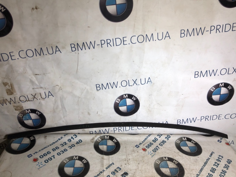 Молдинг на крышу Bmw 3-Series F30 N26B20 2013 правый (б/у)