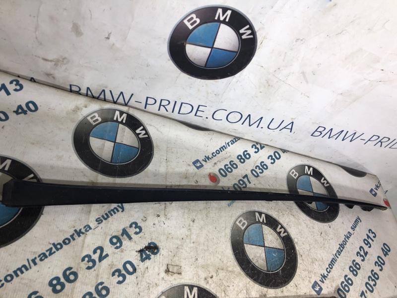 Молдинг лобового стекла Hyundai Sonata LF 2.4 2015 правый (б/у)