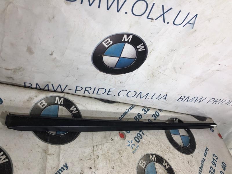 Молдинг на дверь Hyundai Sonata LF 2.4 2015 левый (б/у)
