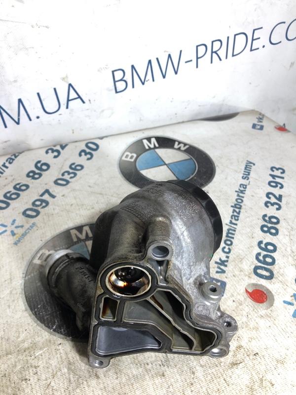 Кронштейн масляного фильтра Bmw 3-Series F30 N26B20 2013 (б/у)