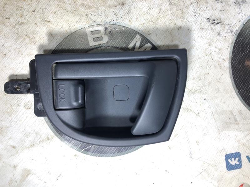 Ручка двери внутренняя Hyundai Santa Fe CM 2.2 CRDI 2009 задняя левая (б/у)
