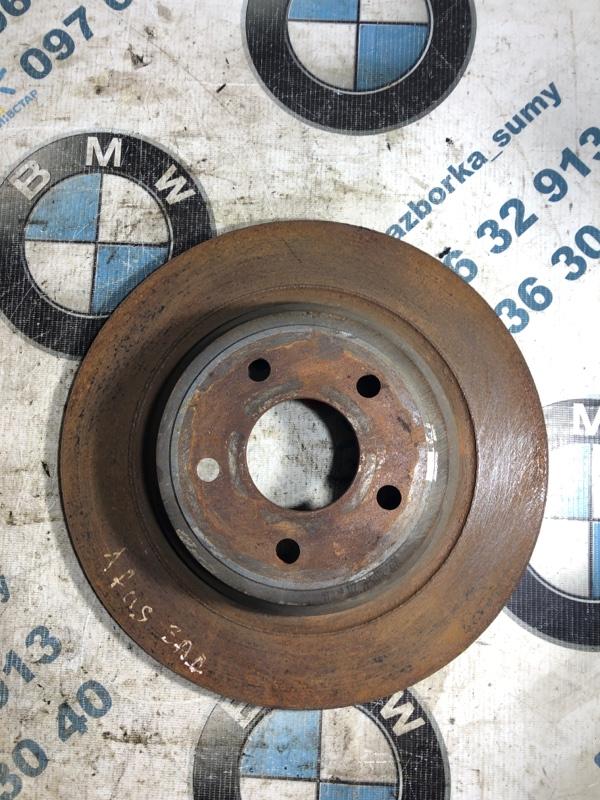 Тормозной диск Ford Fusion 2.0 2013 задний (б/у)