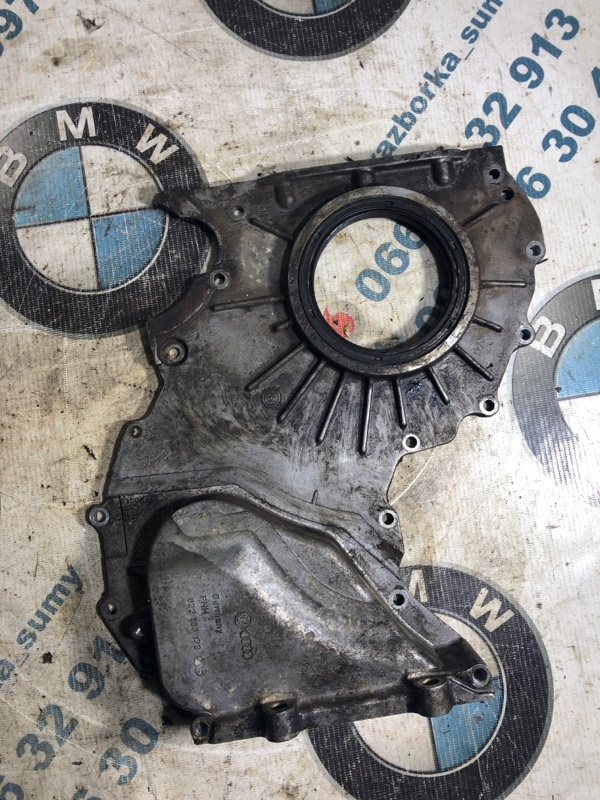 Передняя крышка мотора Volkswagen Touareg 3.2 2004 (б/у)