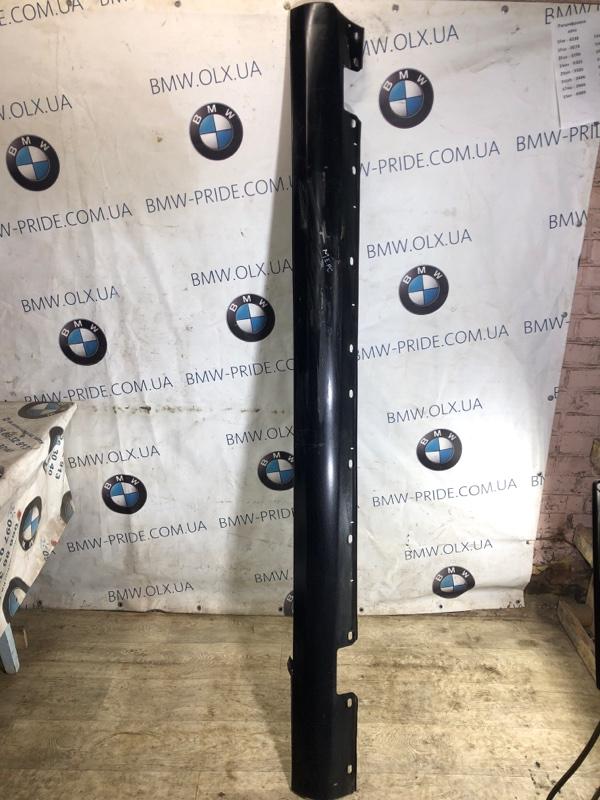 Накладка на порог Mercedes W211 левая (б/у)