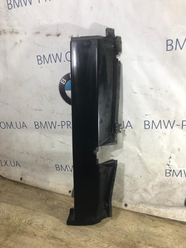 Накладка на порог Bmw 7-Series E32 M70B50 1990 задняя правая (б/у)