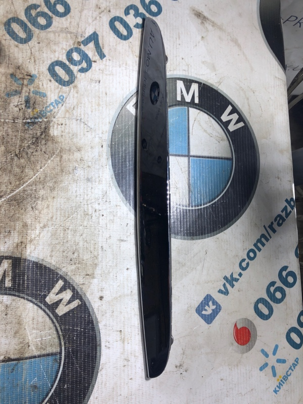 Молдинг капота Bmw 3-Series E90 N46B20 2006 левый (б/у)