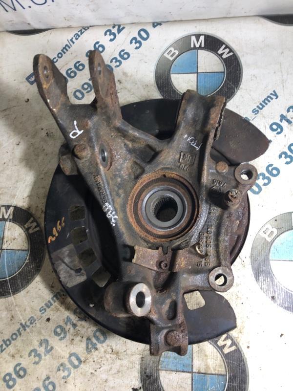 Цапфа Volkswagen Touareg 3.2 2004 задняя правая (б/у)