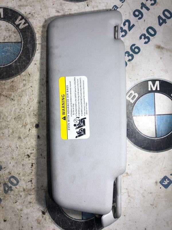 Козырек солнцезащитный Volkswagen Passat B7 2.5 2013 левый (б/у)