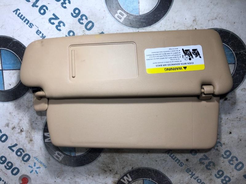 Козырек солнцезащитный Volkswagen Touareg 3.2 2004 правый (б/у)