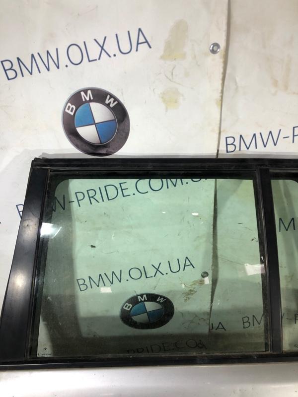 Стекло двери задней Bmw 5-Series E34 M50B25 заднее левое (б/у)