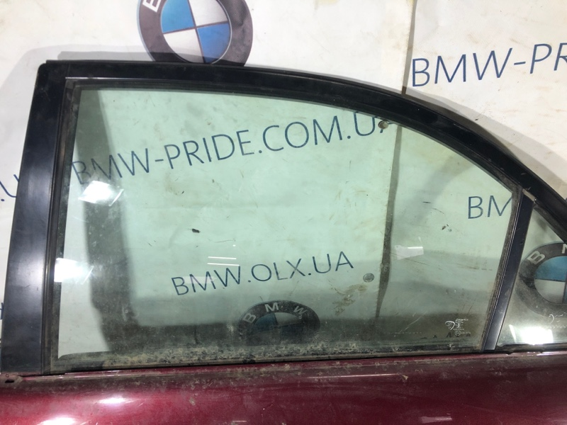 Стекло двери задней Mazda 6 GG 2.0 RF5 2004 заднее левое (б/у)