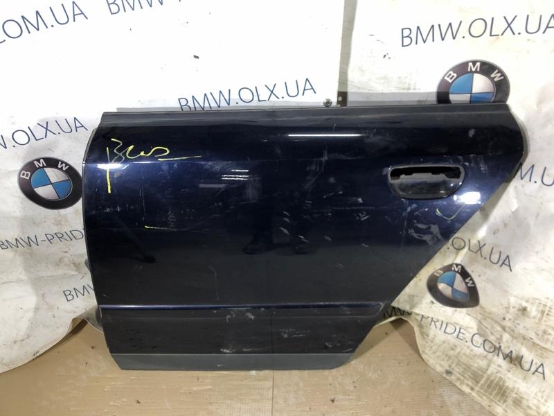 Дверь голая Audi A4 B6 2.0 ALT 2003 задняя левая (б/у)
