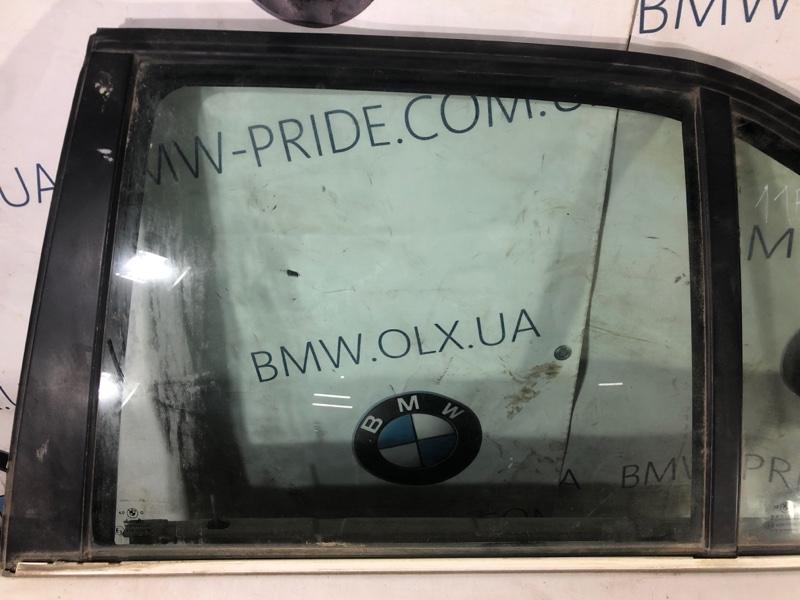 Стекло двери задней Bmw 5-Series E34 заднее левое (б/у)