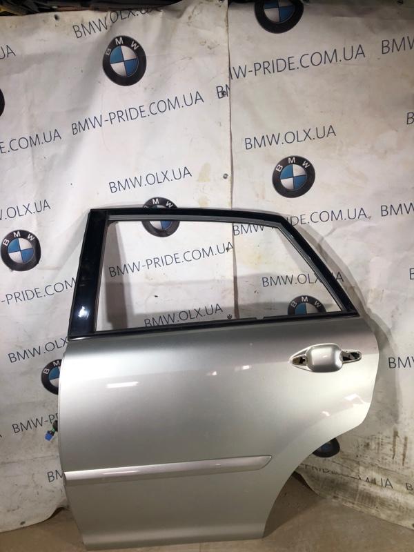 Дверь голая Lexus Rx XU30 3.0 1MZ-FE 2007 задняя левая (б/у)