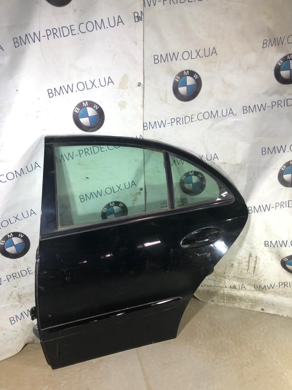 Дверь голая Mercedes-Benz E-Class W211 3.2 M112.946 2006 задняя левая (б/у)