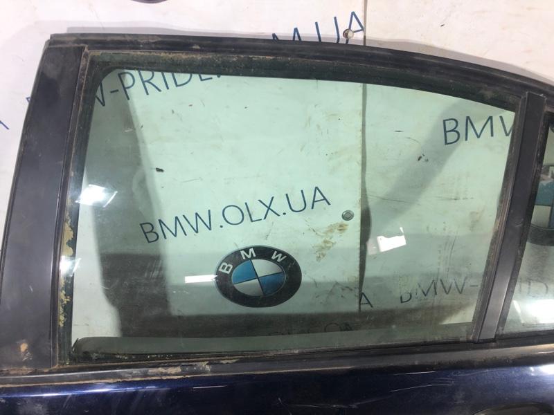 Стекло двери задней Bmw 3-Series E46 M43B18 заднее левое (б/у)