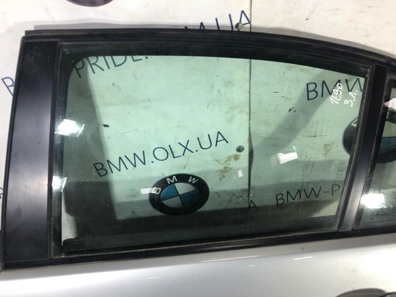 Стекло двери задней Bmw 3-Series E90 N46B20 2006 заднее левое (б/у)